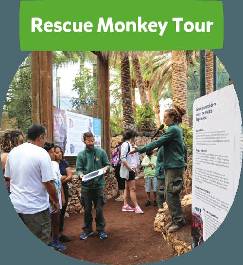 Rescue monkey tour